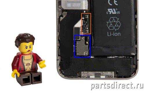Как заменить аккумулятор на iPhone 4S? - фото 6