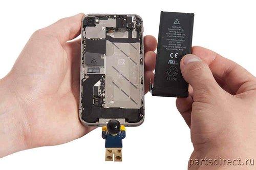 Как заменить аккумулятор на iPhone 4S? - фото 13